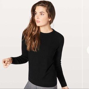 Lululemon Simply Wool Sweater black small
